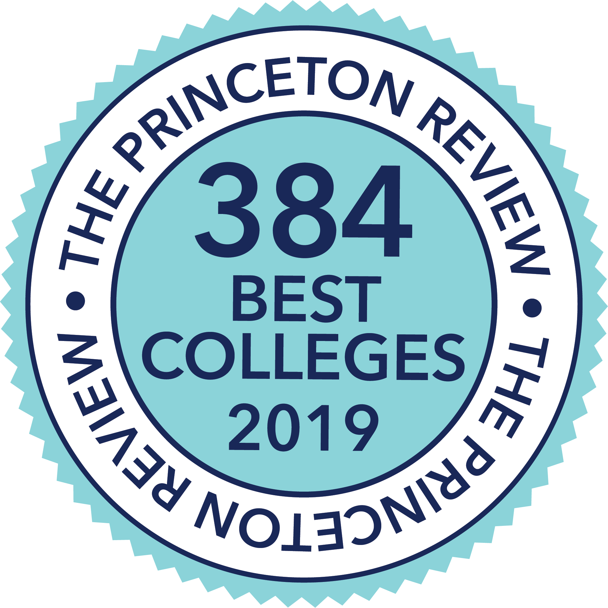 Princeton Review 384 Best Colleges