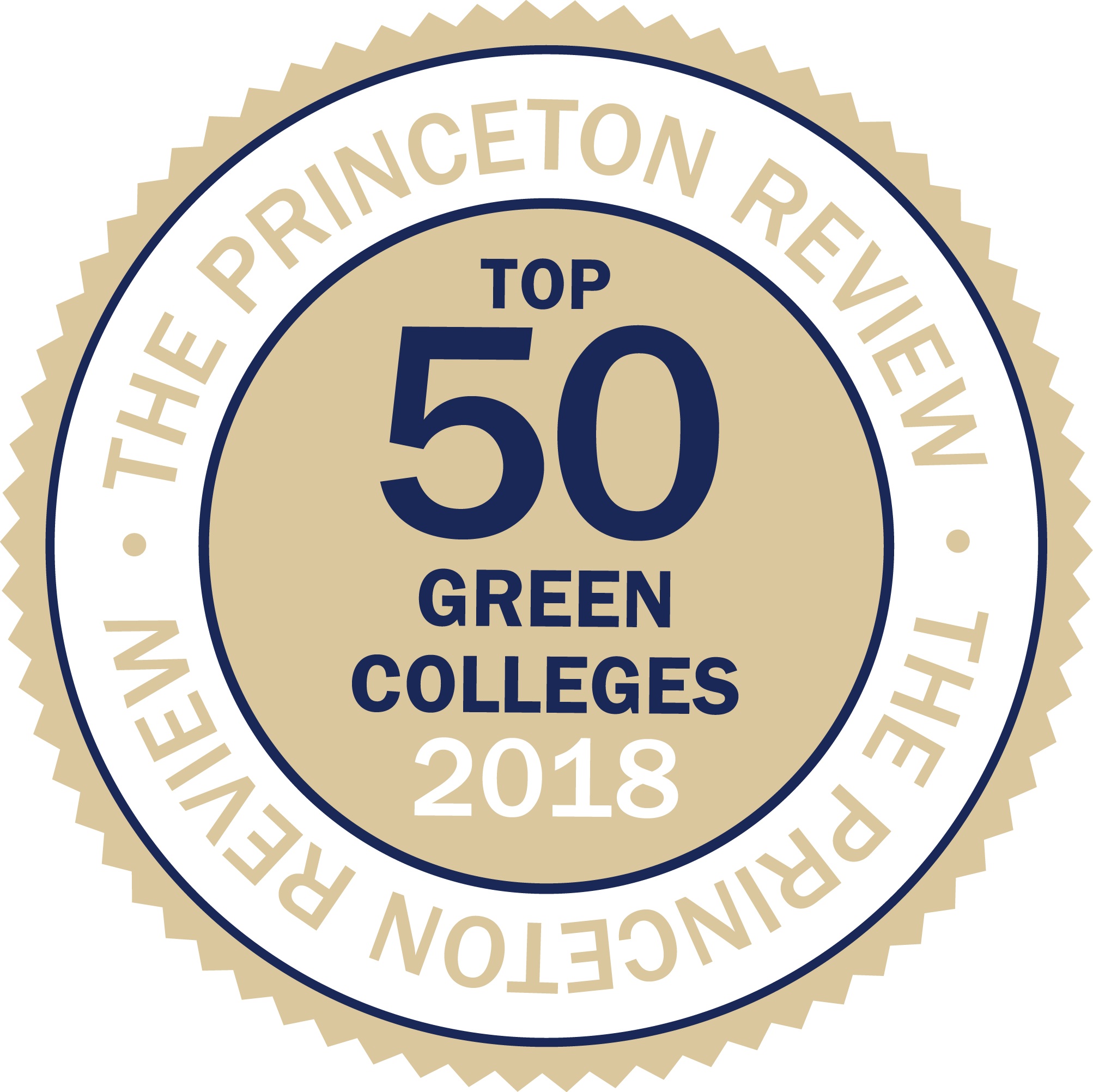 smcm ranks top 6 of 50 green colleges by Princeton review 2016-2017