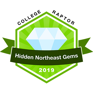 College Raptor Hidden Northeast Gems 2019