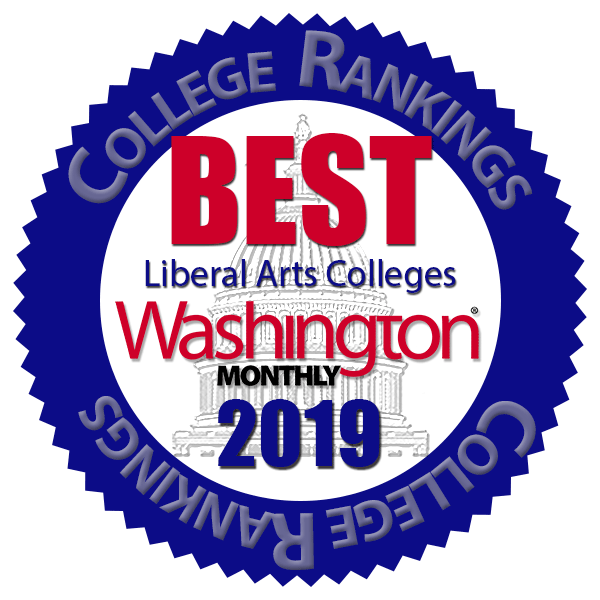 Washington Monthly Best Liberal Arts Colleges 2019