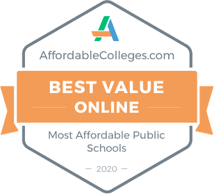 Affordable College's Best Value Award for Out-of-State Public Universities