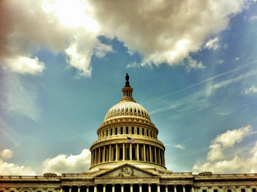 image of the dc capital building