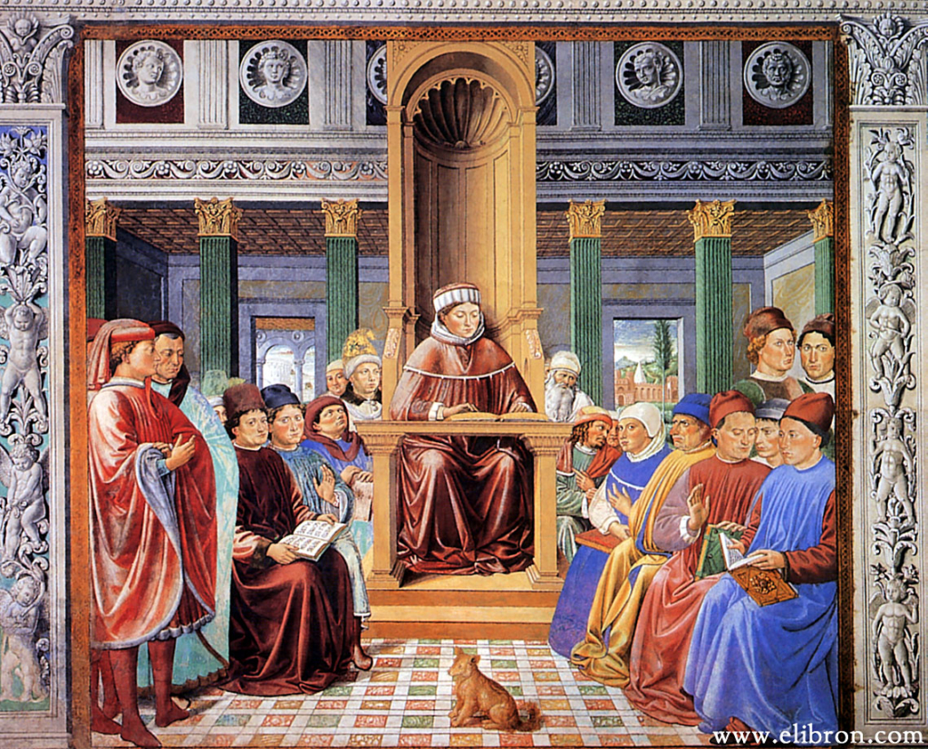 painting of benozzo augustin