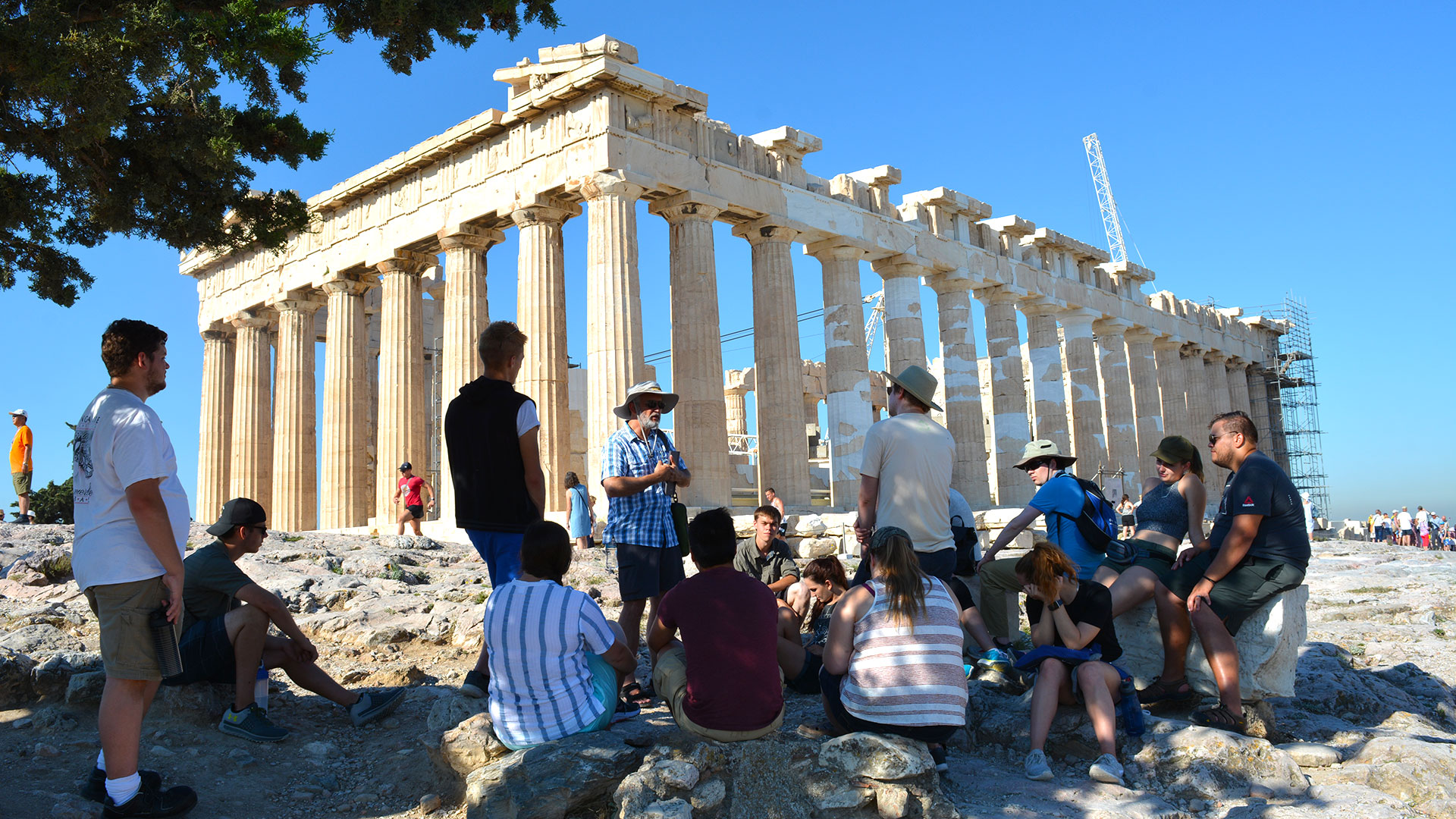 SMCM study tour in Greece