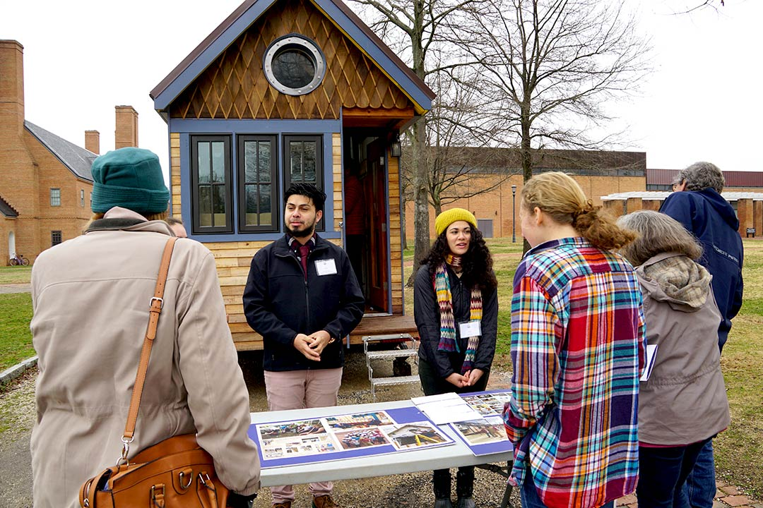SMCM presents a newly completed Tiny House Project