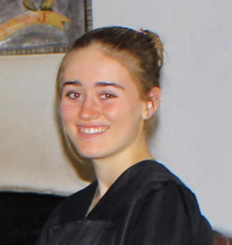 Zoe Smedley '19, Soccer Roster portrait