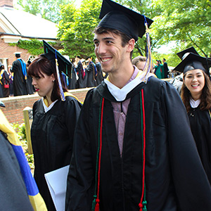 an image of several graduate students during their graduation.
