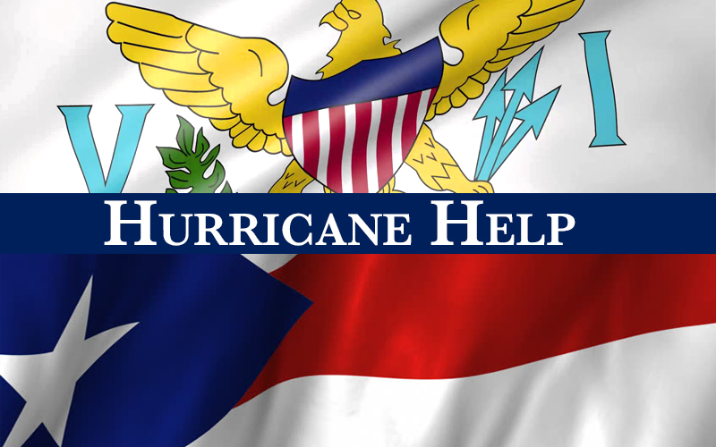 Hurricane Help Poster for students relocating to Maryland