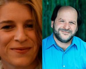 Headshots of Sofia and Michael Sokolove