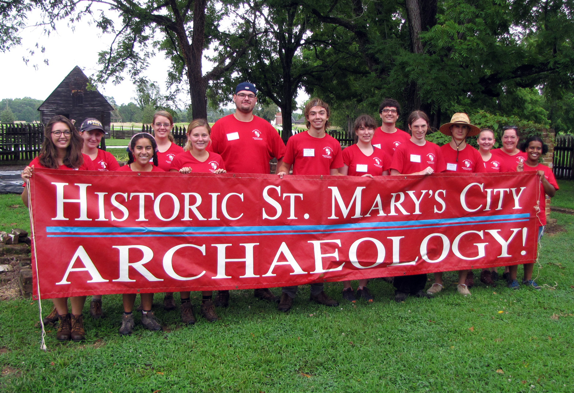 Photo for 2018 HSMC SMCM Historic Archaeology Field School