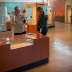 Visiting Anthropologist Sharon Gmelch visits St. John's Museum Site