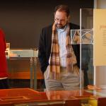 Distinguished Scholar Professor Uzi Baram (NCF) visits St. John's site