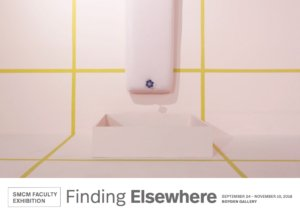 SMCM Faculty Exhibition: Finding Elsewhere Postcard