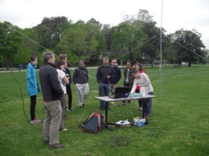 Read about the St. Mary's students who built a radio telescope as part of NASA's Radio JOVE project.