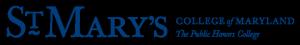 St. Mary's Logo - Horizontal - Navy