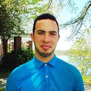 Michael Abrams, a recipient of the 2015 William Donald Schaefer Internship Program