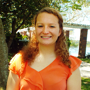 Sara Eaton, a recipient of the 2015 William Donald Schaefer Internship Program