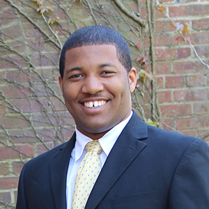 Terrance Thrweatt, a recipient of the 2015 William Donald Schaefer Internship Program