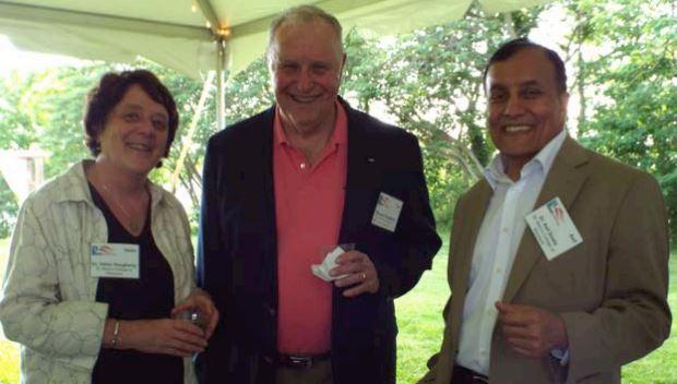 Professor Helen Daugherty, CSD Advisory Board, Tom Daugherty, SMCM Foundation, and Professor Asif Dowla.