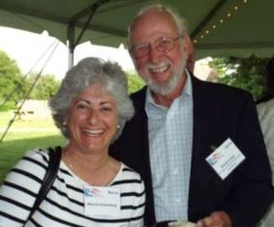 Marcia Greenberg and David Lewis