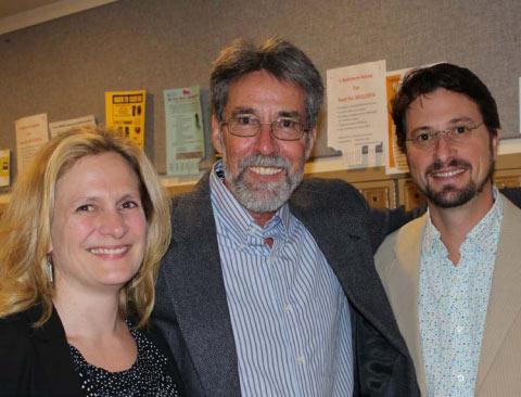 Paul Hirt, Jennifer Cognard-Black, & Dr. Barry Muchnick