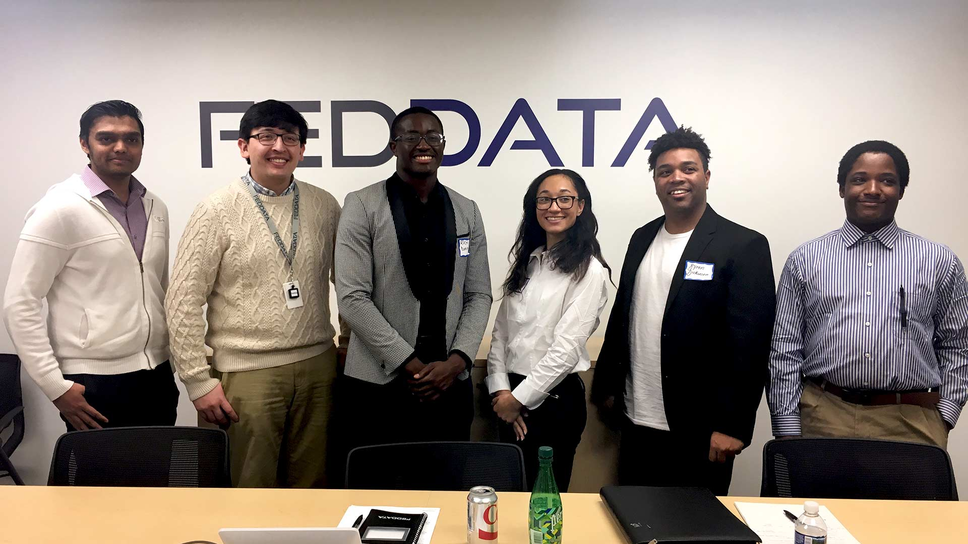 SMCM students visit FedData on Career Immersion Trip