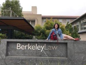 Simone Levine at Berkeley Law