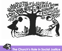 image for role of church and social justice