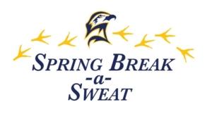 Spring Break a Sweat logo