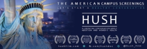 HUSH film advertisement