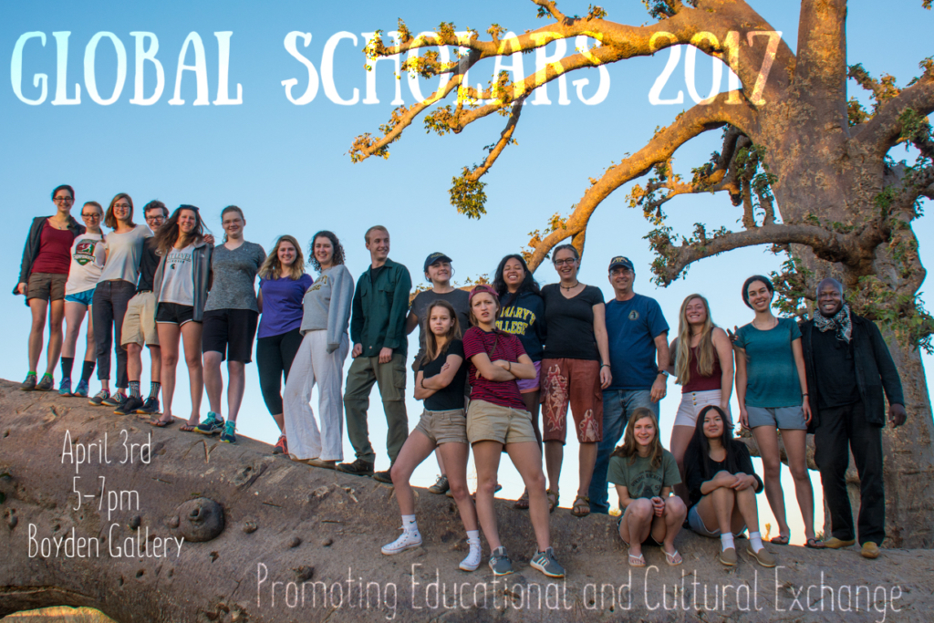 Global Scholars 2017 Sights and Sounds of Senegal in Boyden Gallery April 3