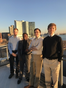 SMCM Interns in Baltimore