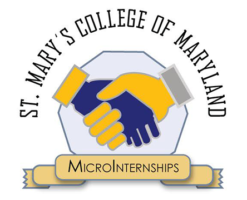 St. Mary's College of Maryland Microinternships logo
