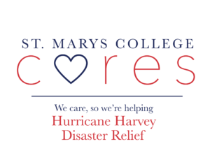 St. Mary's College Cares Hurricane Harvey Disaster Relief