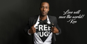Love will save the world image of Ken Nwadike