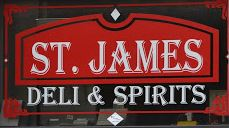 St. James Deli & Spirits logo