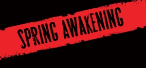 Poster for the Spring Awakening Musical Audition