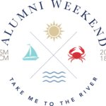 Alumni Weekend 2018 Logo Take Me To The River