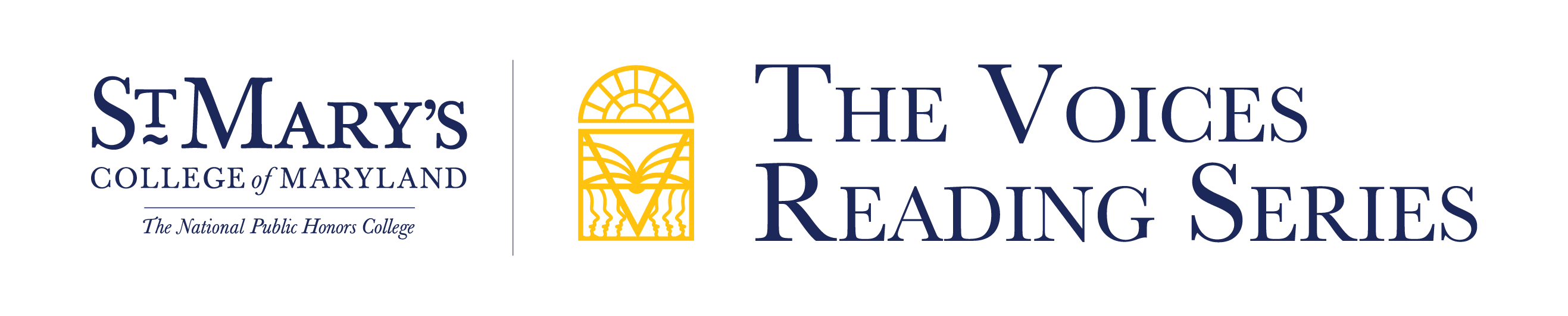 St. Mary's College of Maryland, The National Public Honors College, The Voices Reading Series, logo