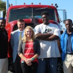 Jack Saum with Beltway Company Interns