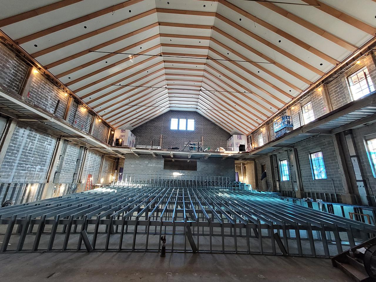 700 seat auditorium