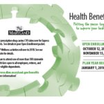 Maryland's department of budget and management open enrollment poster for the 2017 year