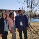 (L-R) Hannah Murphy, Chikondi Kulemeka, Sidi Chleuh pictured