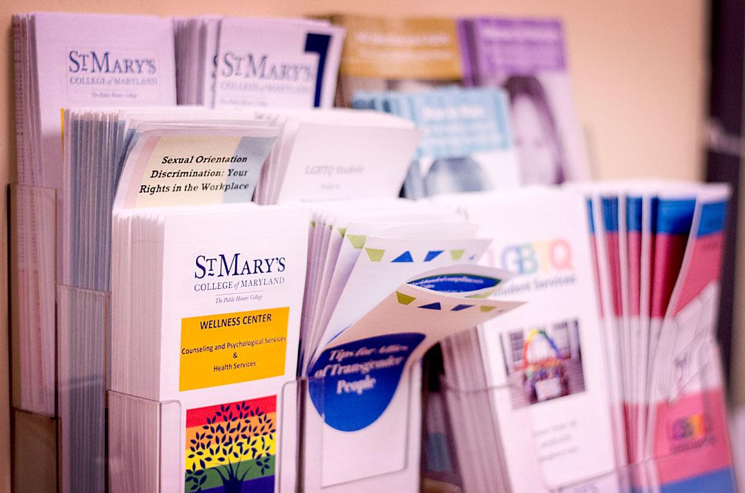 SMCM informational pamphlets