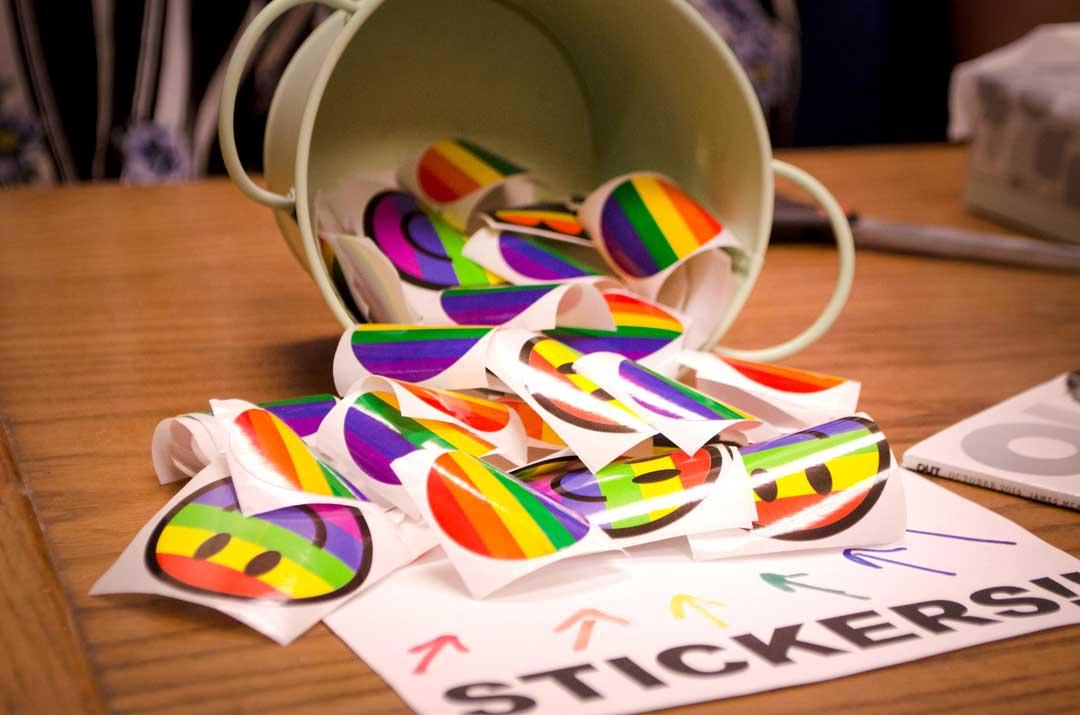 SMCM Rainbow Room Stickers