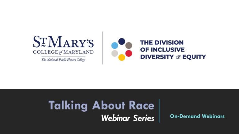 Talking About Race Website Slide
