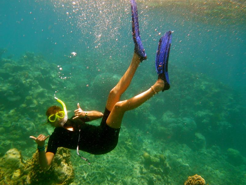 SMCM study abroad scuba diving