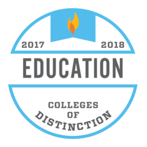 Colleges of Distinction for 2017-2018