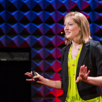 Jordan presenting a 2014 TED talk
