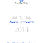 St. Mary's Students Recognized at Awards Convocation
